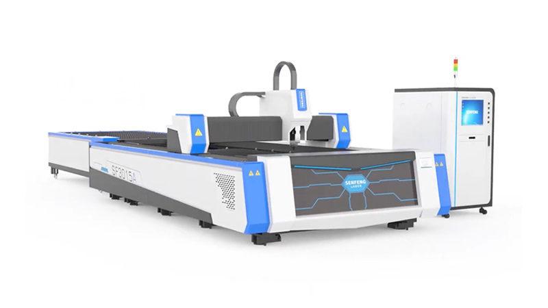 Лазерный станок по металлу со сменными столами Senfeng SF3015A3