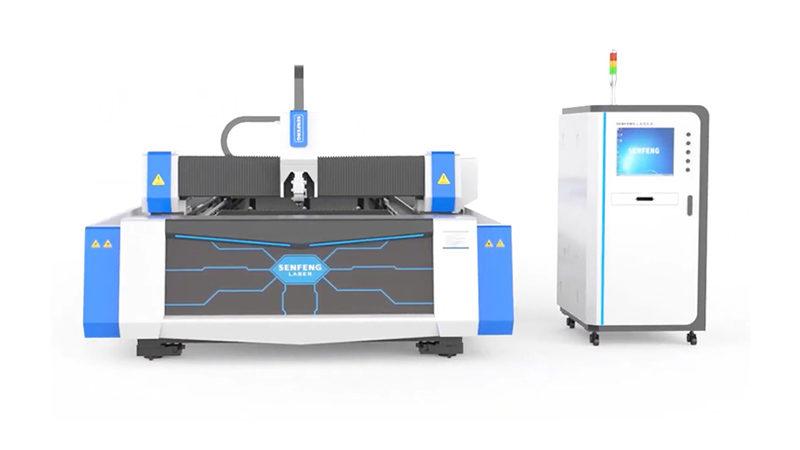 Оптоволоконный лазерный станок для резки металла Senfeng SF3015A3