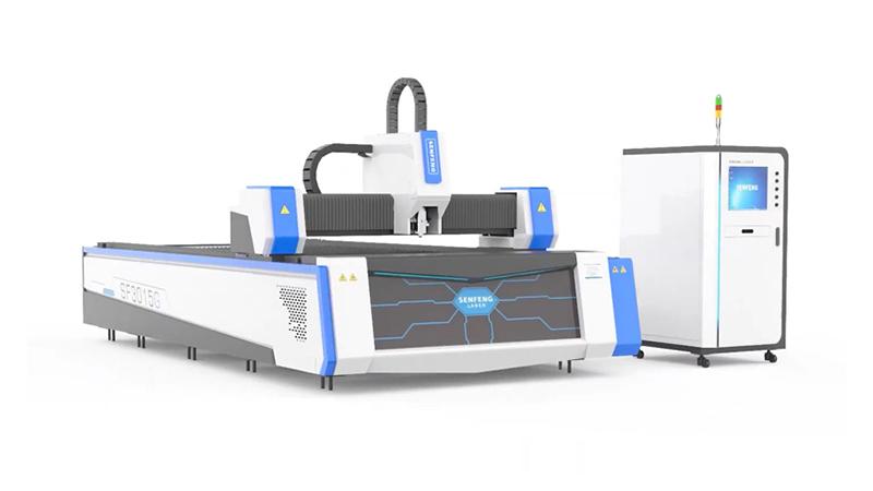 Оптоволоконный лазерный станок по металлу Senfeng SF3015G3