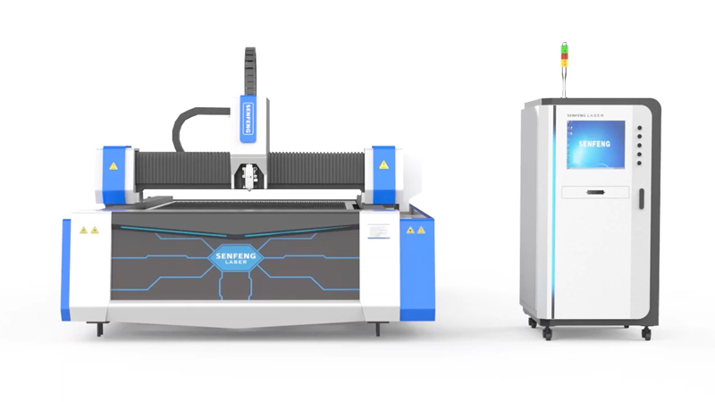 Волоконный лазер для раскроя металла Senfeng SF3015G3