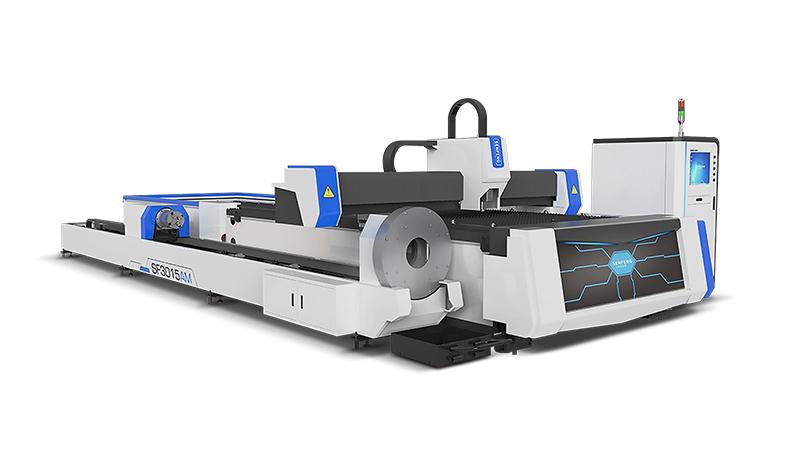 Оптоволоконный лазерный станок для резки металлов Senfeng SF3015AM