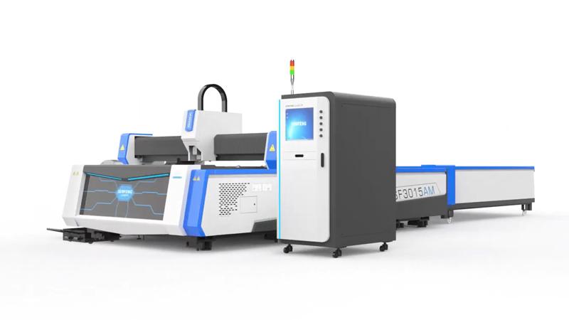 Волоконный лазерный станок Senfeng SF3015AM