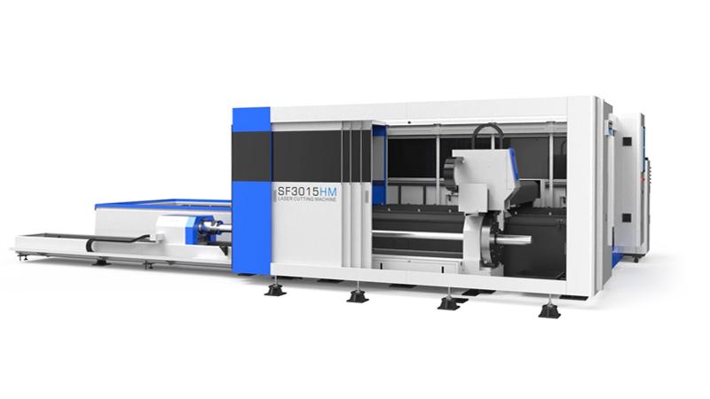 Волоконный лазерный станок Senfeng SF3015HM