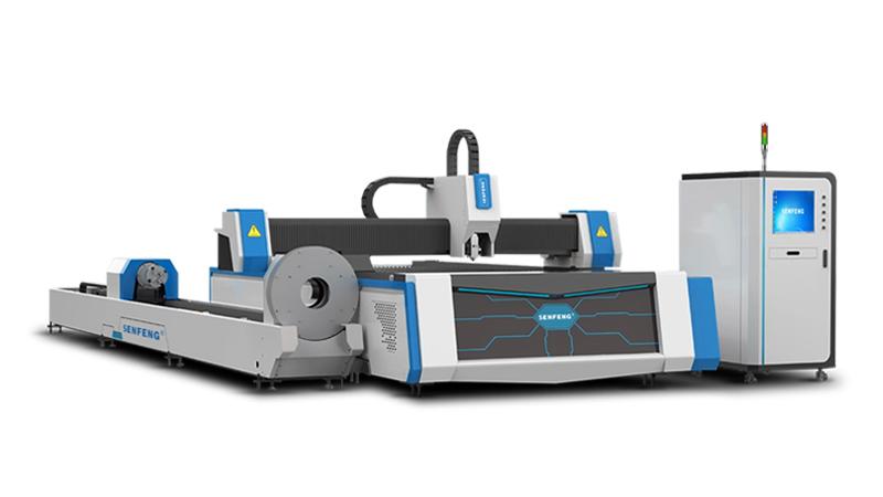 Лазерный станок для резки листового метала и труб Senfeng SF3015M3