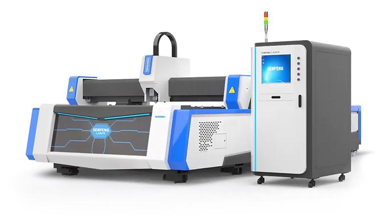 Волоконный лазер для резки листового металла и труб Senfeng SF3015М3